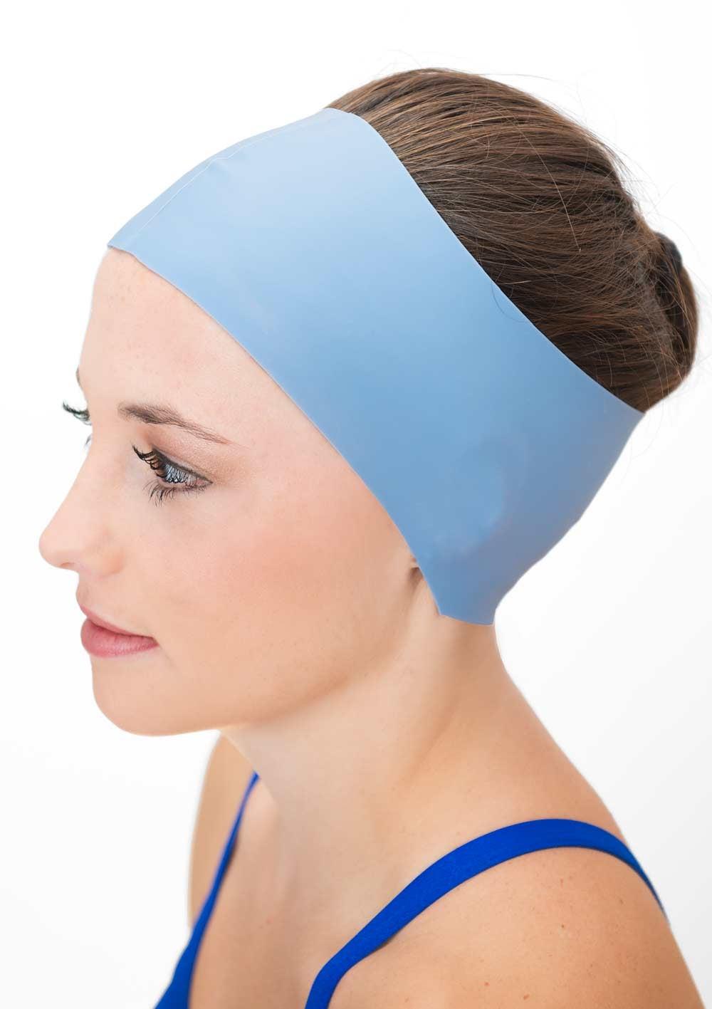 Astounding Waterproof Swim Cap Hair Guard Headband Headcovers Short Hairstyles For Black Women Fulllsitofus