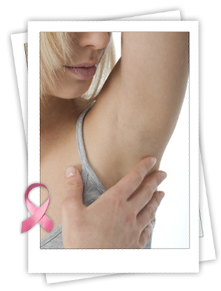 breast cancer - check under arms