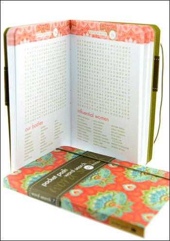 cancer gifts - word search book