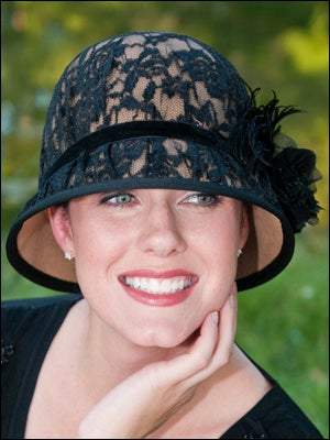 dressy fancy hats for cancer patients