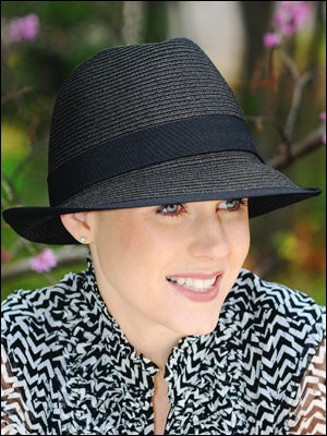 fedora hats for hair loss and cancer patients