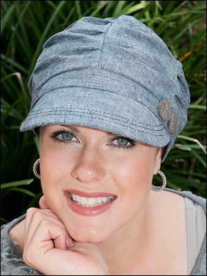 newsboy caps for cancer patients