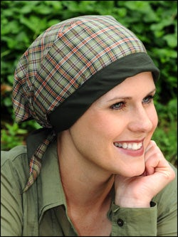 triangle headscarf for cancer chemotherapy