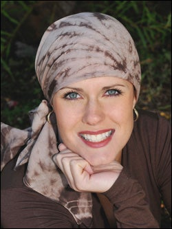 square cotton head scarves for cancer chemotherapy patients