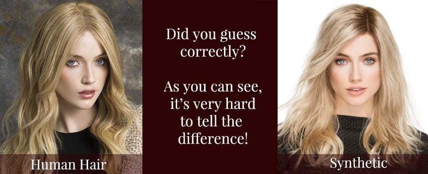 Synthetic Hair vs. Human Hair Wigs   Headcovers