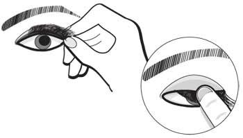false eyelash application instructions