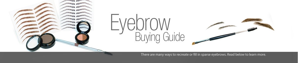 eyebrow replacement and makeup options for eyebrow hair loss