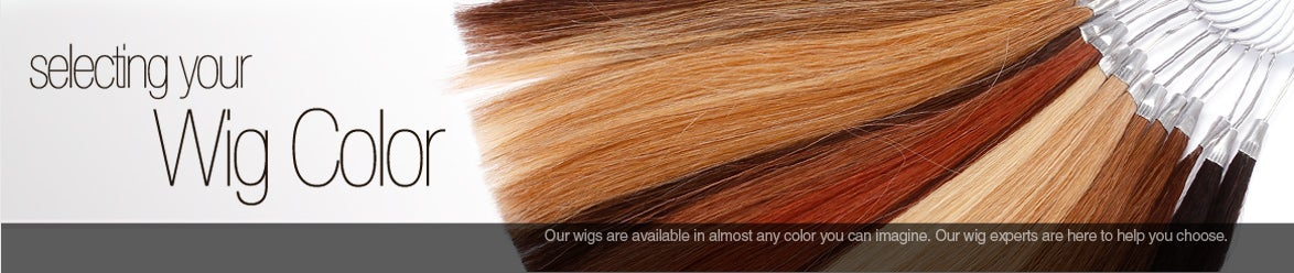 how to select a wig color, cancer patient wig help